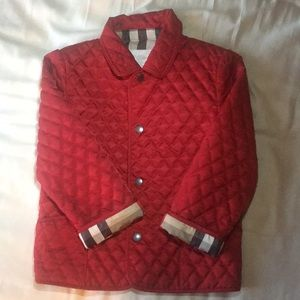 Burberry Jackets & Coats - New! Burberry diamond quilted girls jacket